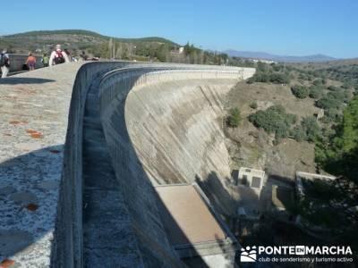 Ruta senderista por el embalse de Puentes Viejas;excursiones por la pedriza;guias de senderismo